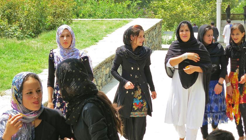Afghan women in Kabul